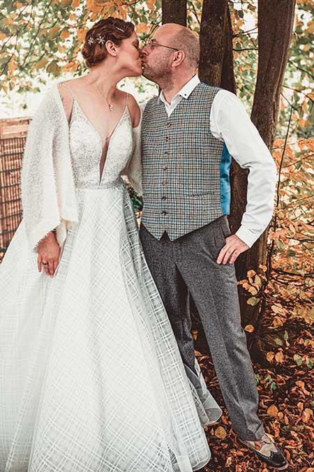 Tweedanzug - Hochzeitsanzug